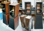 Pyramidal Cabinets for Crescendo Ribbon Horn Speaker System - Part 1