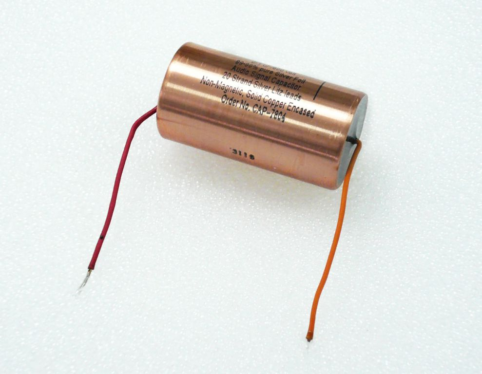 what are you using for capacitors in your les pauls harmony central 0 047uf silver foil 250